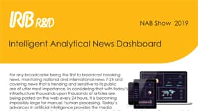 Intelligent Analytical News Dashboard